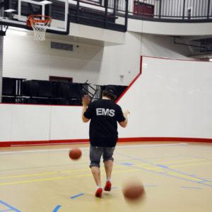 Walk a Mile EMS Basketballs in Motion